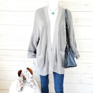 Urban Outfitters BDG open front rib knit cardigan